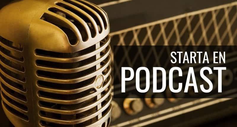 Starta podcast 2018 mikrofon och inspelningsutrustning