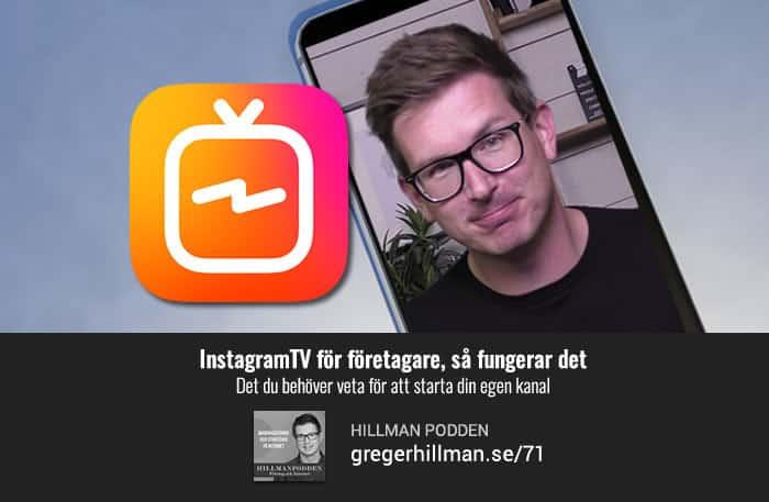 Instagram TV (IGTV) för företagare